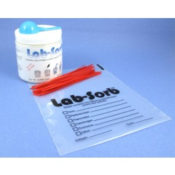 LabSorb kit with 25 medium bags
