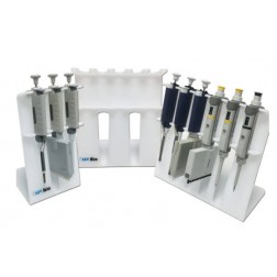SureStand Pipette Stand for 8 pipettes, up to six multi-channels, acrylic