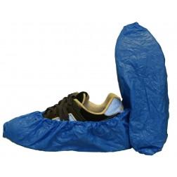 Co-Polymer Shoe Cover, Blue, Size XL, CS300