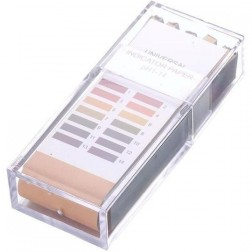 pH Test Strips 0-14, 10 strips
