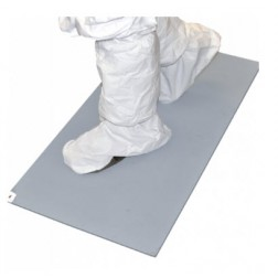 Tacky Traxx, 24X45in., Grey, 30 sheets/mat, 4 mats/case
