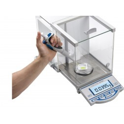 Accuris  Analytical Balance with internal calibration, 120 grams, readability 0.0001grams, 230V, E